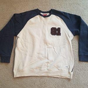 Guess Navy/ Cream sweatshirt